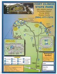 Map Of Florida State Parks by Adventures Of Toaster Fort Clinch State Park Part 1
