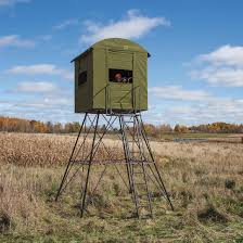 Stand Up Hunting Blinds Landmark 10 U0027 Tower And Hunting Blind 669580 Tower U0026 Tripod