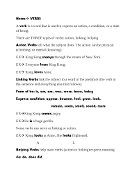 verb noteslinking agreement template ribbon letter s of lines