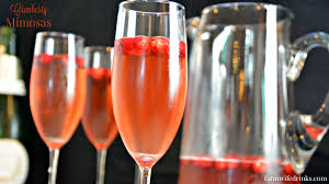 holiday champagne cocktails cranberry mimosas the farmwife drinks