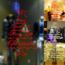 wholesale pattern merry christmas tree letter home store office