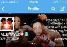 Teyana Taylor Meme - rihanna teyana taylor twitter feud provokes domestic violence