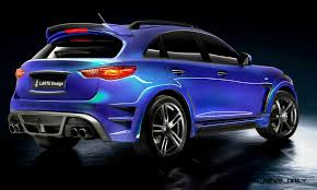 infiniti qx70 larte design infiniti qx70 is mad fast mad suv upgrade