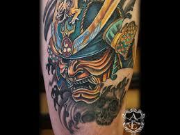 hannya mask samurai tattoo unique samurai tattoo