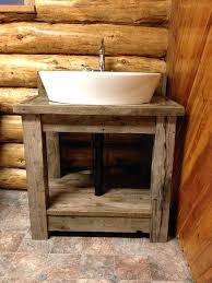 reclaimed bathroom cabinet bathroom vanities country style