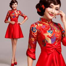 short wedding dress u2013 modern qipao