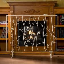 fireplace screen curtain fireplace doors lowes lowes