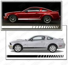 decals for ford mustang mustang side decals ebay