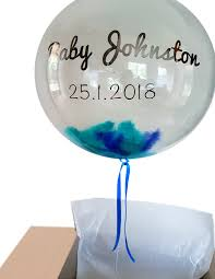 balloons in a box send some personalised balloon in a box oh baby