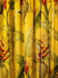 tropical print curtains set of 2 bohemian tropical print floral