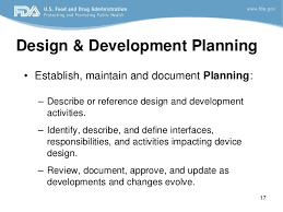 design freeze meaning design control fda requirements