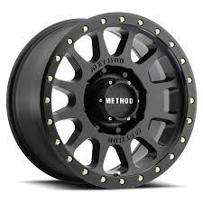 double standard matte black off road wheel method race wheels