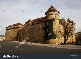 stuttgart castle altes schloss old castle german city stock photo 29424478