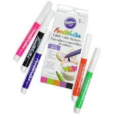 edible markers neon colors tip foodwriter edible markers by wilton