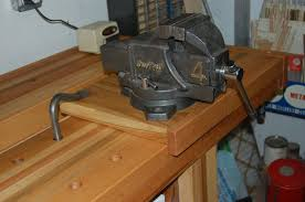Woodworking Bench Vise by Machinist Vise For Woodworking Workbench By Tyvekboy