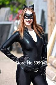 free shipping dhl dark knight rises catwoman zentai catsuit