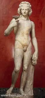 dionysus greek god statue dionysus ancient greco roman statue