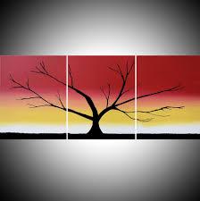 the rainbow tree acrylic tree painting happy tree painter