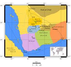 Map Of Yemen Minaeans Wikipedia