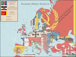 Europe Map Ww1 European Alliance System In 1926 Following A German Won Ww1 And