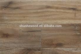 engineered oak flooring monocoat finished wire brushed smoked