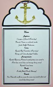 Titanic Second Class Menu by Busy With The Cricky Titanic Tuesday Individual Place Menus