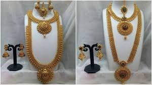 gold bridal sets 1 gram gold bridal set collections with price wedding