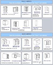 cabinet door sizes chart kitchen cabinet door size chart cabinet doors