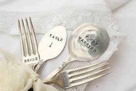 wedding silverware vintage silverware wedding cake fork serving set bridal shower