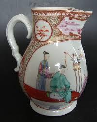 mandarin porcelain milk jug in mandarin porcelain qianlong 1736 1795 item 1139224