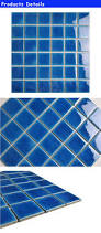 blue ceramic mini mosaics 48 48mm mosaic tile picture in turkey