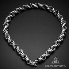 necklace chains silver images Very big rope chain necklace jpg