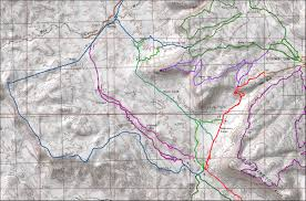 Map St George Utah by Snakepit Trail St George Utah