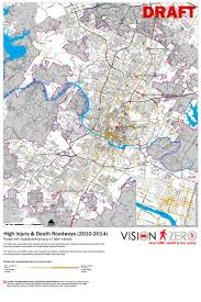 Austin Maps by Vision Zero Evaluation Maps Planning And Zoning Austintexas