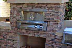 built in outdoor pizza oven home design