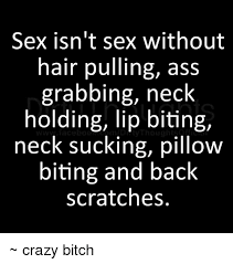 Meme Sex - sex isn t sex without hair pulling ass grabbing neck holding lip
