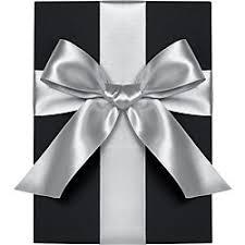 gray ribbon satin gift ribbon paper source