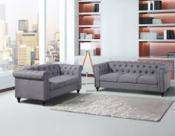 Container Chesterfield Sofa And Loveseat Set  Reviews Wayfair - Chesterfield sofa and chairs