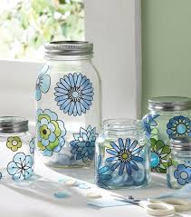 home accessories appealing glass canisters for kitchenware ideas modern blossom glass canisters plus silver lid for