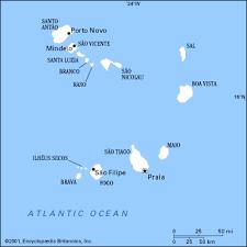 africa map islands cape verde africa island map cape verde africa mappery
