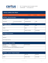 editable general incident report form template fill print