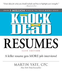 Best Resume Books 2017 by Knock U0027em Dead 2017 Book By Martin Yate Official Publisher
