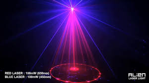 Laser Stage Lighting Outdoor by Alien Mini Led Laser Stage Lighting R24rb Youtube
