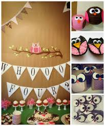 Owl Decorations For Home by Interior Design Owl Themed Birthday Party Decorations Room