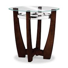alcove cocktail table and 2 end tables merlot value city furniture