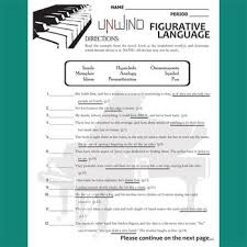unwind figurative language analyzer 60 quotes by created for