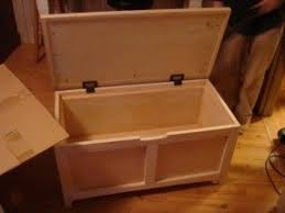 Build Wood Toy Box by Wooden Toy Chest Bench Foter