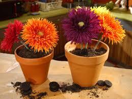 flowerpot dirt dessert diy
