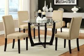 glass dining room table set seconique cameo 100cm glass dining table and 4 chairs set
