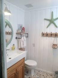 beachy bathroom ideas cottage decor ideas for your mobile home youre going to
